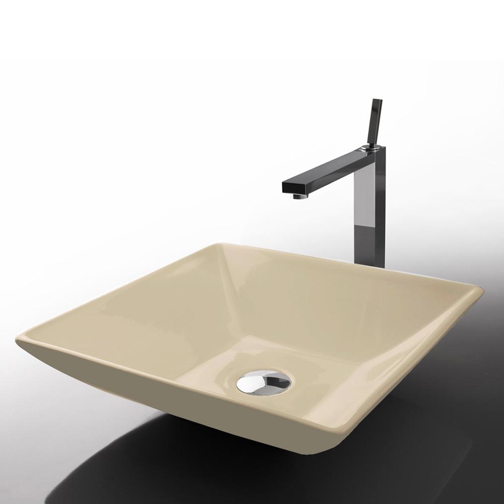 Lavabo cuadrado de medidas 36 5x36 5 h 9 cm modelo for Lavabo cuadrado